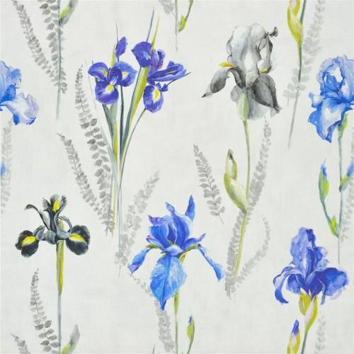 Tissu Iris coloris Amethyst FDG2478-01 - Designers Guild