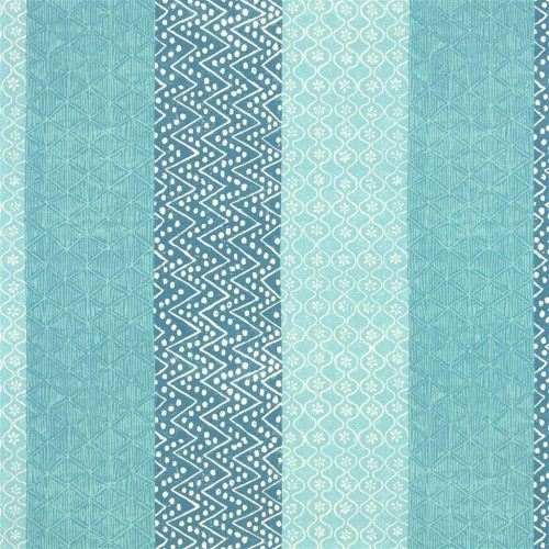 Tissu Laguna coloris Aqua F1916-02 - Designers Guild