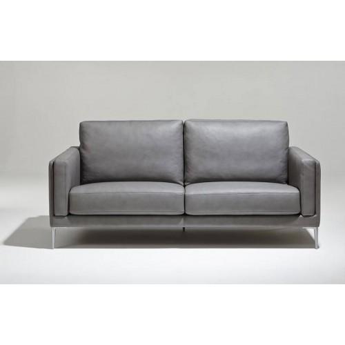 Canapé Modèle Auteuil Burov - Cuir Parker gris