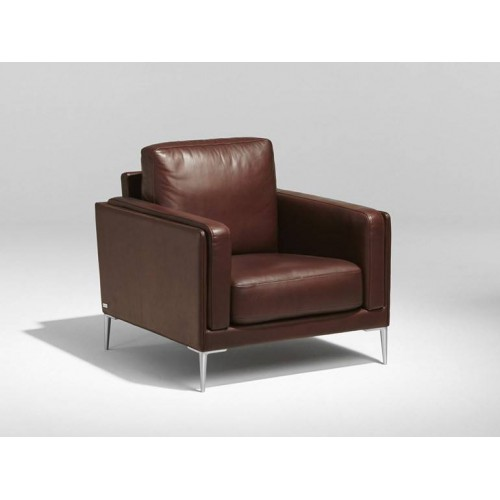 Model Auteuil Armchair Burov - Parker chocolate leather