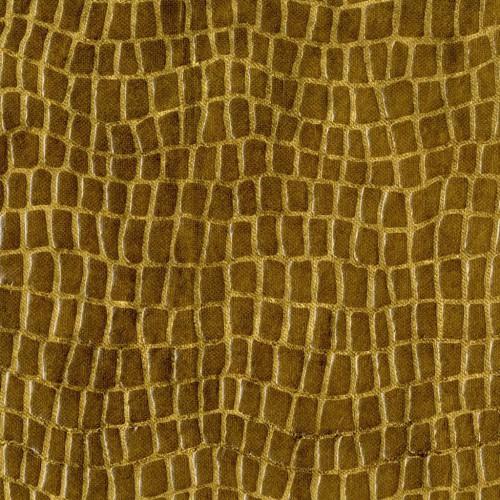 Simili-cuir Drago - Rubelli coloris 30010/001 cuoio (cuir)