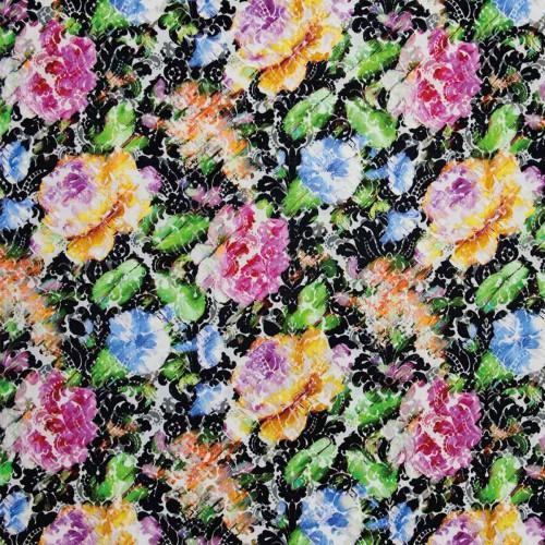 Tissu Velvet Dreams - Christian Lacroix coloris FCL020/01 jais