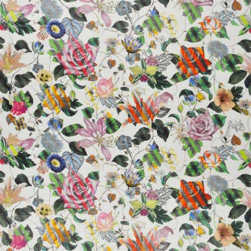 Tissu Malmaison - Christian Lacroix coloris FLC486/02 jonquille