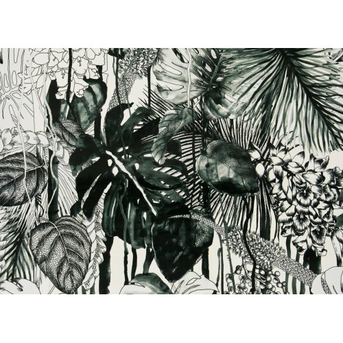 Soft Jardin Exo'Chic fabric - Christian Lacroix