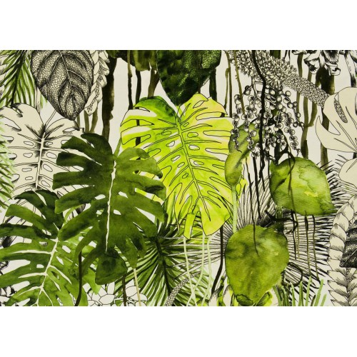 Tissu velours cancun tissus casal for Lacroix jardins 78