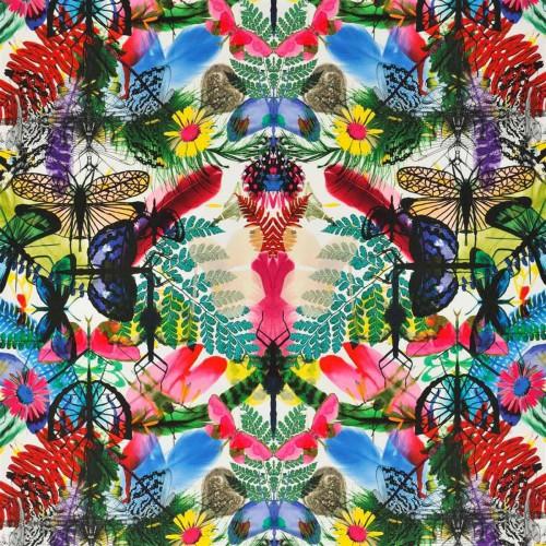 Tissu Caribe - Christian Lacroix coloris FC2275/01 perroquet