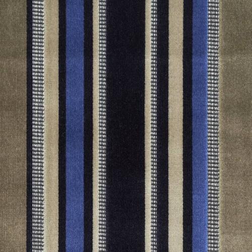 Tissu velours Ravello - Panaz coloris 188 navy mocha