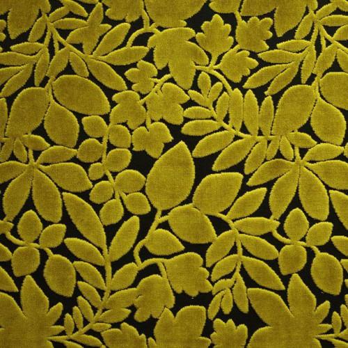 Tissu velours Paradiso - Panaz coloris 238 citrus