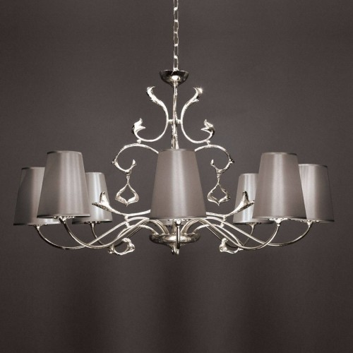 Bronze chandelier ALICANTE - Bronze nickel