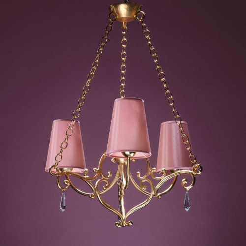 Bronze chandelier JULIET - Bronze gold