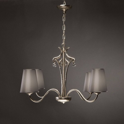 Bronze chandelier SIECLE 4 - Bronze nickel