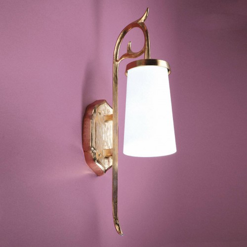 Bronze outdoor sconce MARQUISE - Bronze gold