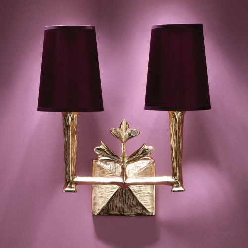 Bronze wall lamp LUXOR - Bronze gold