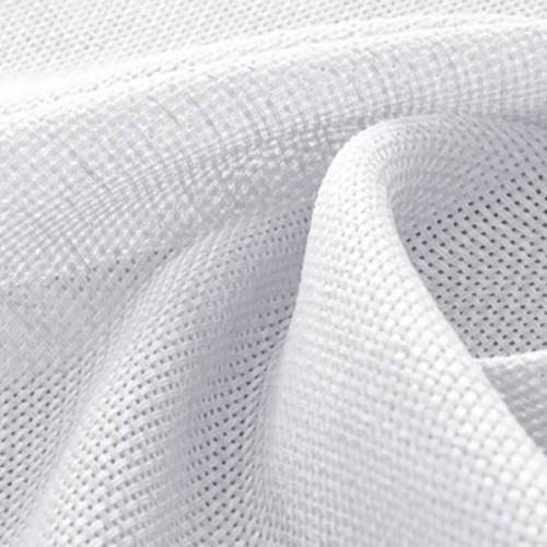 Tissu Gill - Houlès coloris 72714/9000 blanc