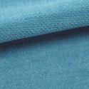 Tissu velours plat Amara Casal coloris mer du sud