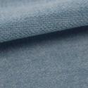 Tissu velours plat Amara Casal coloris pétrole