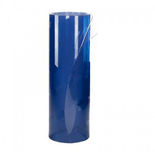 Rouleau de 20 ml de plastique cristal souple transparent 10 mm (1000/100) disponible en plusieurs largeurs