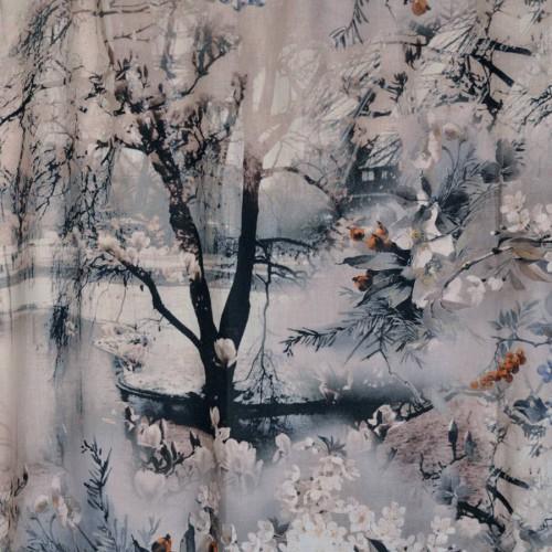 Tissu Vagabond - Jean Paul Gaultier coloris 3441/01 terre