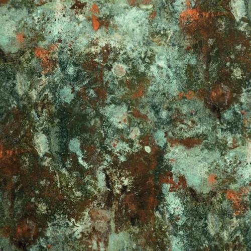Tissu Oxydation - Jean Paul Gaultier coloris 3465/01 jade
