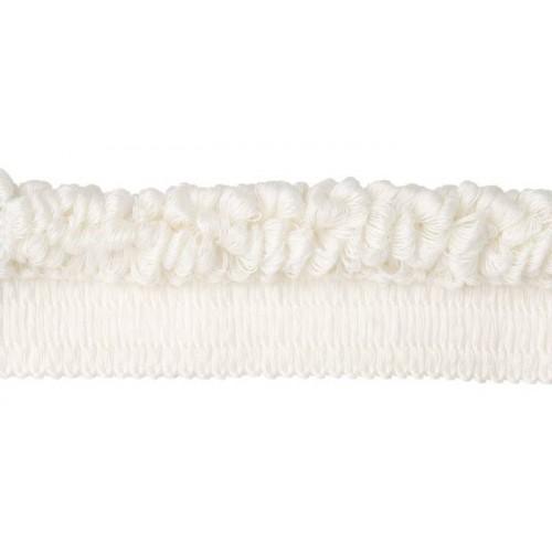 Câblé bouclé sur Pied 20 mm collection Plaza - Houlès coloris 33015/9010 blanc