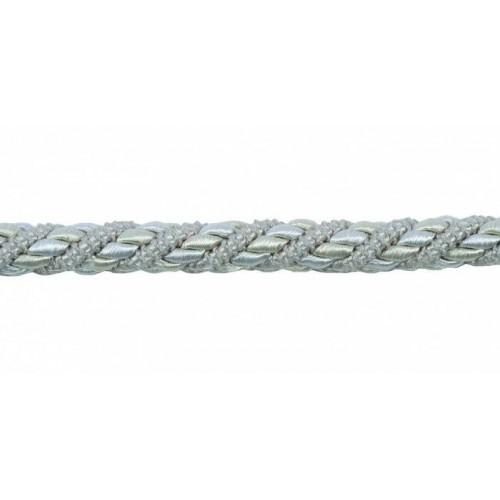 Câblé corde 12 mm collection Palais Royal - Houlès coloris 31332/9020 argent