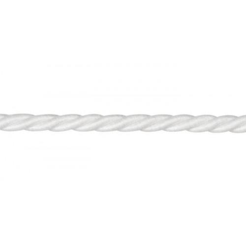 Câblé corde 10 mm collection Riviera Les Unis - Houlès coloris 31291/9000 blanc