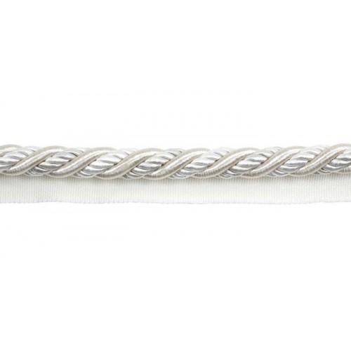 Câblé sur pied 12 mm collection Antica - Houlès coloris 31270/9010 blanc casse