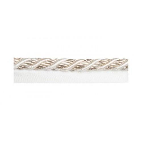 Câblé sur pied 12 mm collection Duchesse - Houlès coloris 31200/9010 ivoire