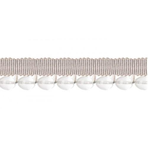 Câblé sur pied 11 mm collection Diva - Houlès coloris 31296/9000 blanc