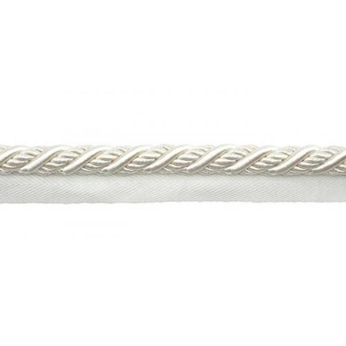 Câblé sur pied 12 mm collection Galliera - Houlès coloris 31283/9010 blanc