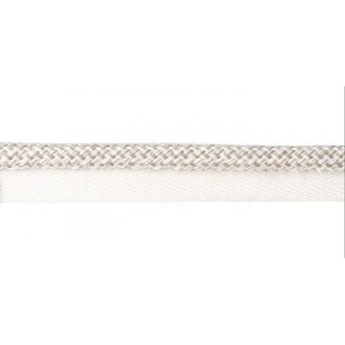 Câblé sur pied 10 mm collection Plaza - Houlès coloris 31297/9010 blanc casse
