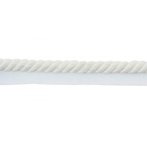 Câblé sur pied 10 mm collection Twiggy - Houlès coloris 31287/9010 blanc