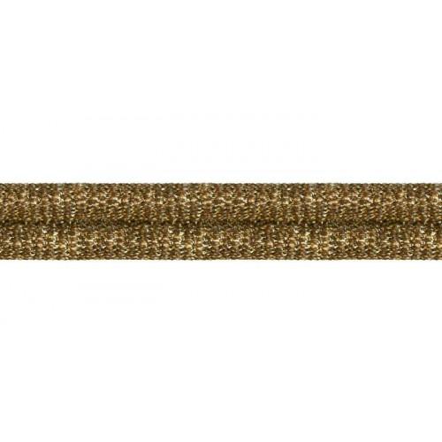 Double corde metal 10 mm collection Double Corde & Galons - Houlès coloris 31110/9163 laiton