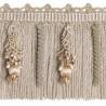 Embellished bullion Fringe 12 cm Duchesse - Houlès