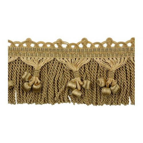 Embellished bullion Fringe 70 mm Les marquises - Houlès
