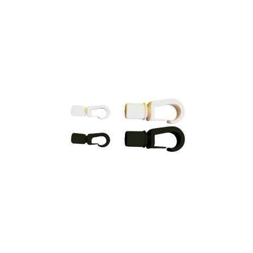 Crochet Sandow autobloqueur noir ou blanc disponible en plusieurs dimensions