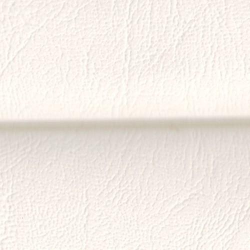Simili-cuir côtelé pour bateau grain cuir sur mousse 2 mm Nautolex coloris blanc