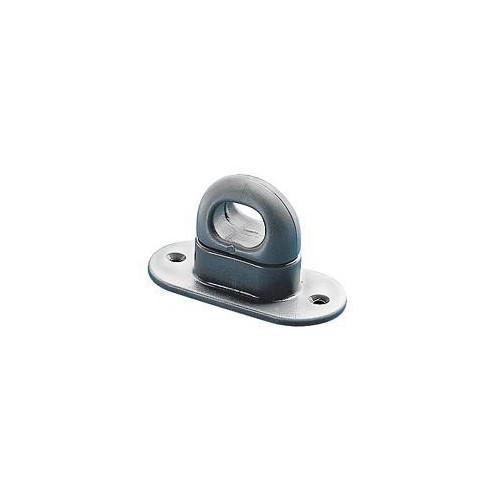 Tourniquet ovale plastique 8 x 32 mm pour Œillet 17 x 11 mm - Miederhoff