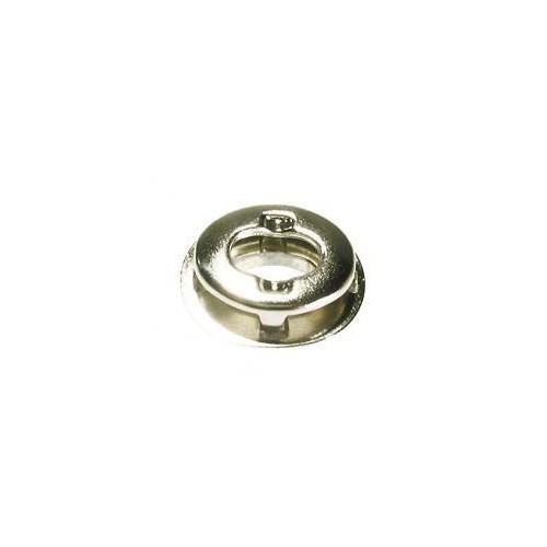 Tourniquet ovale nickelé jaune 8 x 35 mm pour Œillet 17 x 11 mm - Miederhoff