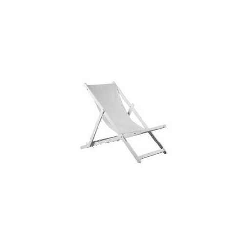 Seat canvas for sunlounger Cannes by Balliu white canvas