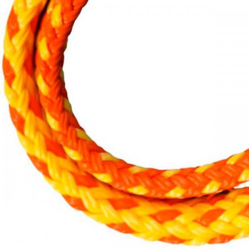 Cordage amarre Flashline 8 mm orange - Cousin Trestec