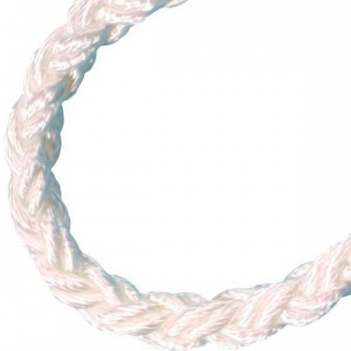 Cordage amarre Squareline Polyamide blanc - Cousin Trestec
