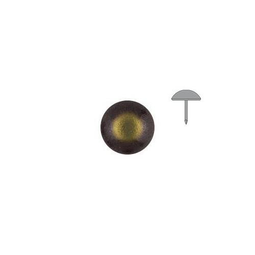 Clou tapissier perle fer Bronze renaissance à la pièce diamètre 6.5 mm