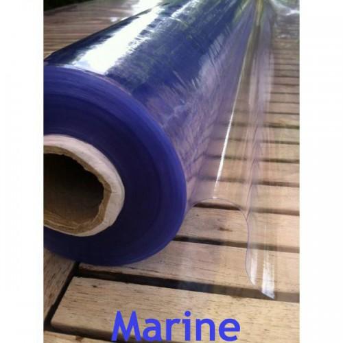 Rouleau de 100 ml de Plastique MARINE UV cristal souple transparent 0.2 mm (20/100)