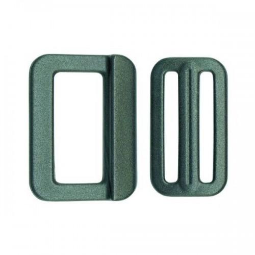 Boucle et passant plastique haute résistance disponibles en plusieurs dimensions