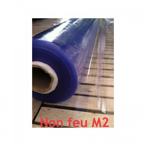 Flexible cristal clear plastic 1 mm (100/100) M2