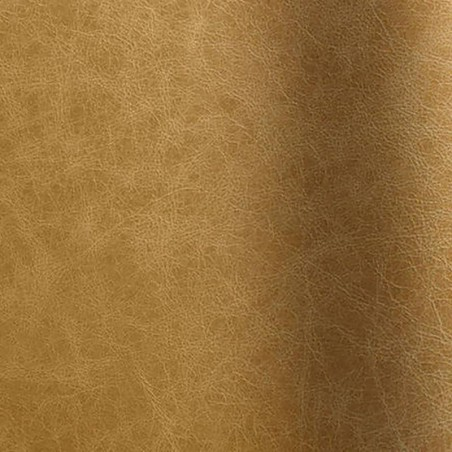 Bull's leather corrected aged effect Pista beige color