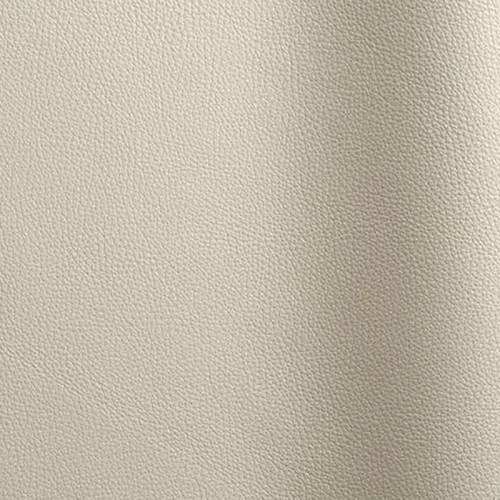 Bull's leather corrected Bizon ivory color