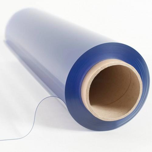 Rouleau de 20 ml de plastique cristal souple transparent 0.5 mm (50/100) antistatique pour l'industrie