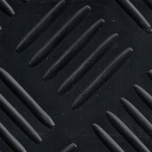 Rubber mat SBR Tchecker per linear meter